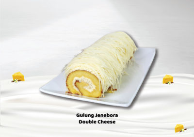 Gulung Jenebora Double Cheese menjadi salah satu best seller Gulung Jenebora.